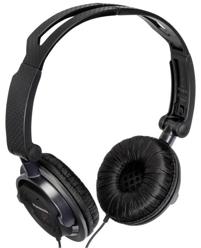 Sluchátka přes hlavu Panasonic RP-DJS150E-K, černá