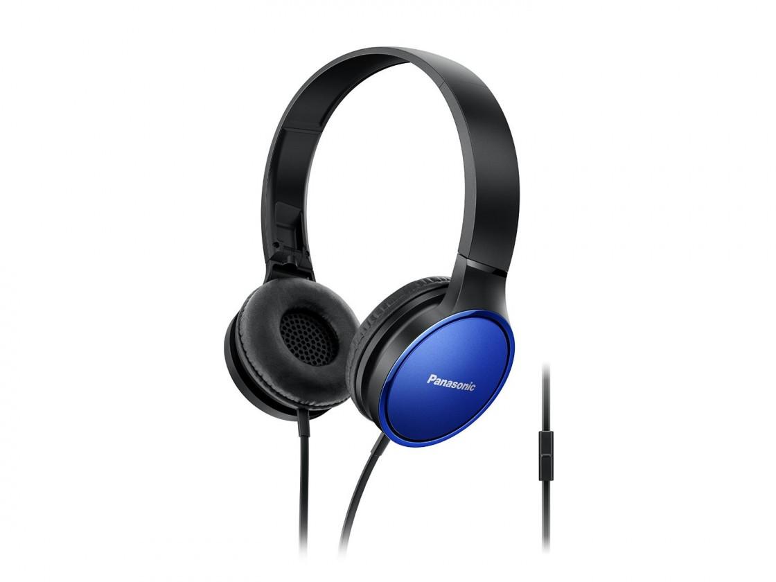 Sluchátka přes hlavu Panasonic RP-HF300ME, modrá RP-HF300ME-A