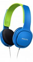 Sluchátka přes hlavu Philips SHK2000BL, modrá
