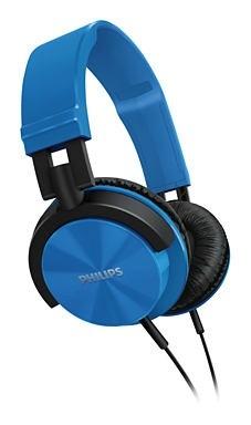 Sluchátka přes hlavu Philips SHL3000BL/00