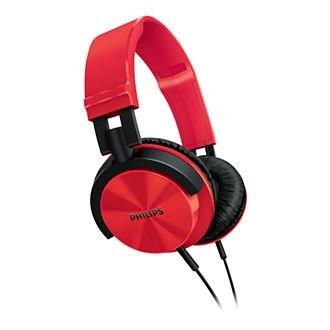 Sluchátka přes hlavu Philips SHL3000RD/00