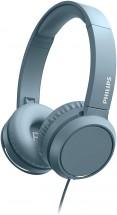 Sluchátka přes hlavu Philips TAH4105BL, modrá