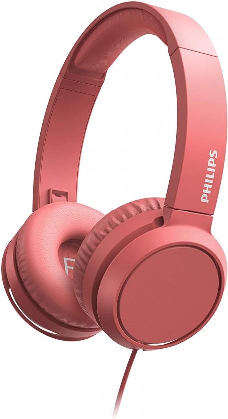 Sluchátka přes hlavu Philips TAH4105RD