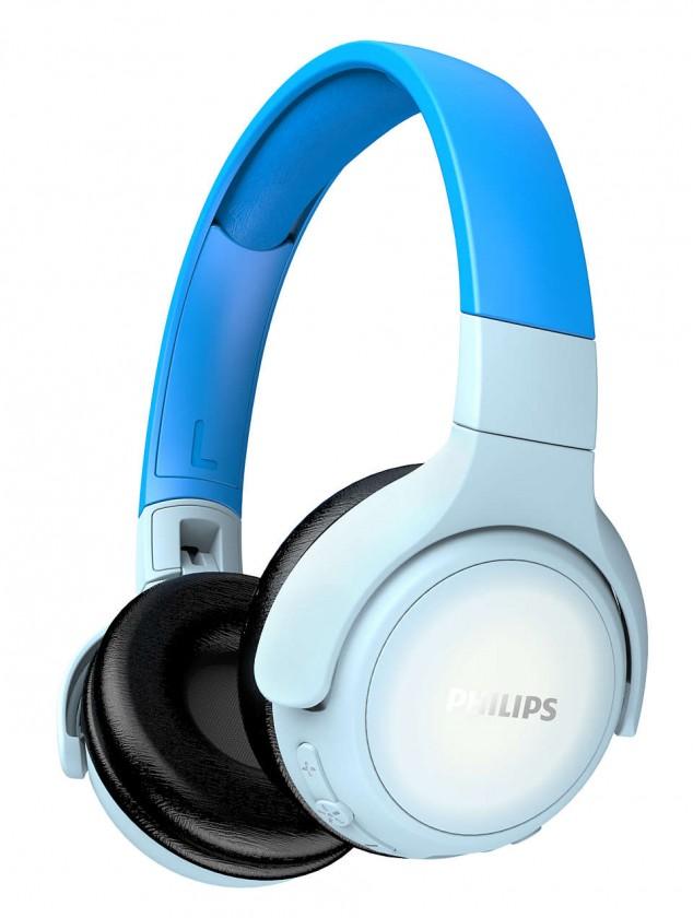 Sluchátka přes hlavu Philips TAKH402 modrá