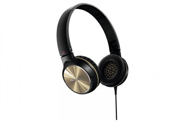 Sluchátka přes hlavu Pioneer SE-MJ532-N, černozlatá
