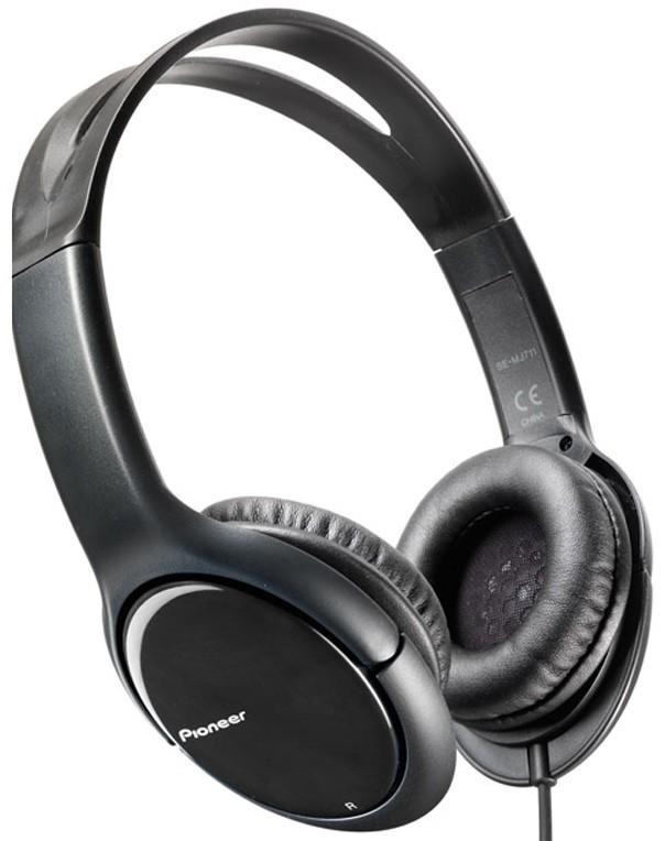 Sluchátka přes hlavu Pioneer SE-MJ711-K (Black)