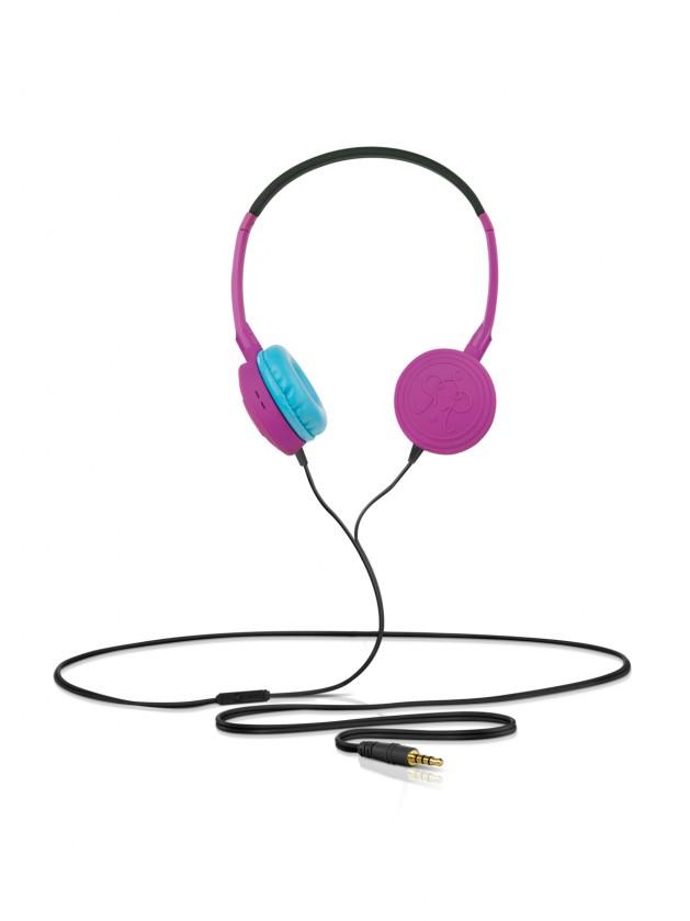 Sluchátka přes hlavu Rocking Residence TRIC Madkat Purple