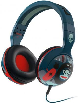 Sluchátka přes hlavu Skullcandy Hesh 2.0 Paul Frank Navy, modrá červená