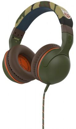 Sluchátka přes hlavu Skullcandy Hesh 2.0, tm.zelená