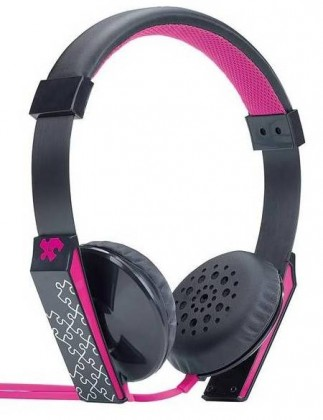 Sluchátka přes hlavu Sluchátka GENIUS GHP-460S, stylové, růžové