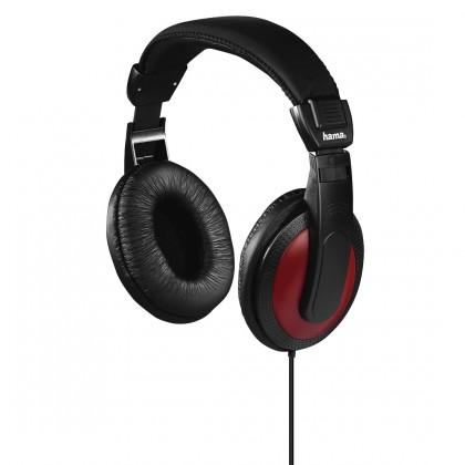 Sluchátka přes hlavu Sluchátka Hama HK-3031, 93031 černá/červená