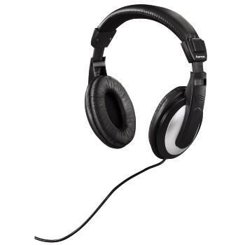 Sluchátka přes hlavu Sluchátka HK-3032 k TV, uzavřená, černá/stříbrná