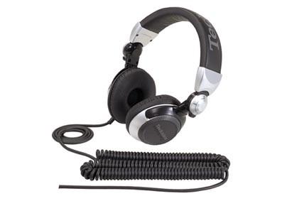 Sluchátka přes hlavu Sluchátka Panasonic RP-DJ1210E-S, černo-stříbrná