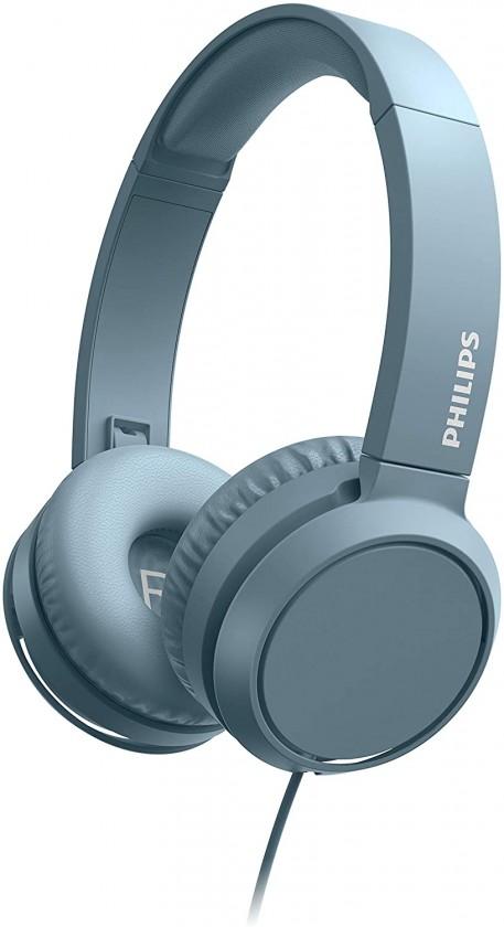 Sluchátka přes hlavu Sluchátka přes hlavu Philips TAH4105BL, modrá