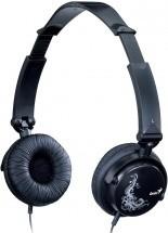 Sluchátka přes hlavu Sluchátka s mik GENIUS HS-410F - skládací, černé ROZBALENO