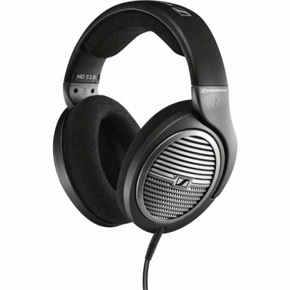 Sluchátka přes hlavu Sluchátka SENNHEISER, HD 518