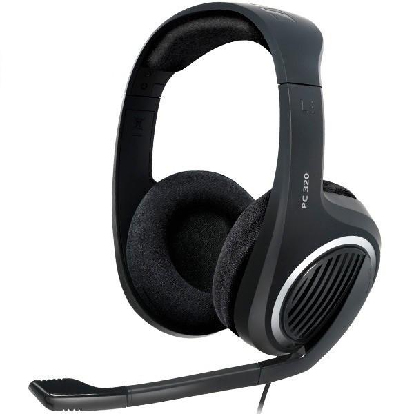 Sluchátka přes hlavu Sluchátka SENNHEISER, PC 320