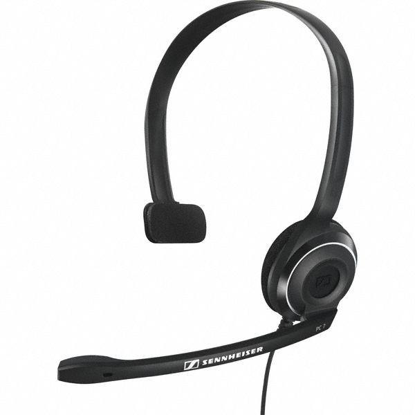 Sluchátka přes hlavu Sluchátka SENNHEISER, PC 7 USB