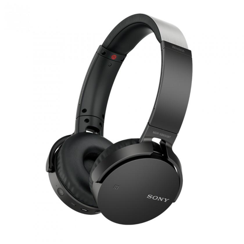 Sluchátka přes hlavu Sony MDR-XB650BT Black