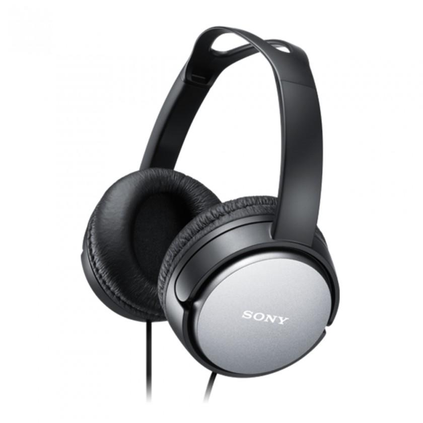 Sluchátka přes hlavu Sony MDR-XD150, černá