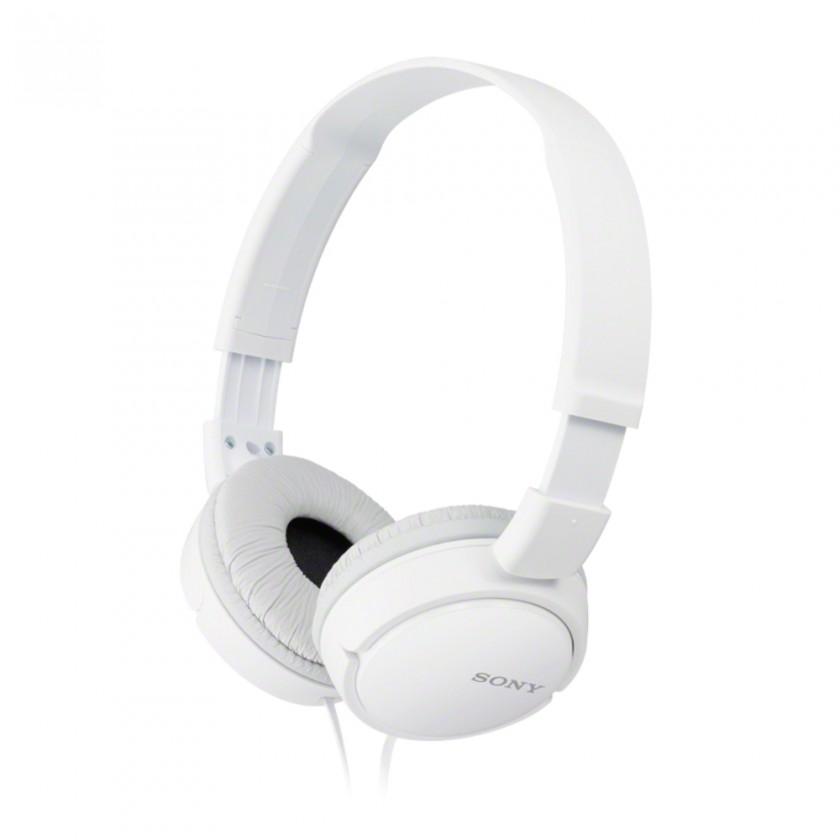 Sluchátka přes hlavu Sony MDR-ZX110, bílá