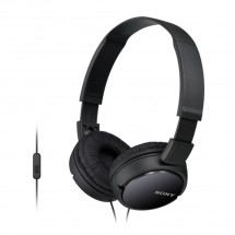 Sluchátka přes hlavu Sony MDR-ZX110APB, černá