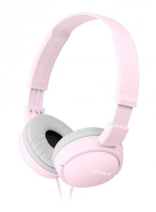 Sluchátka přes hlavu Sony MDR-ZX110P, růžová