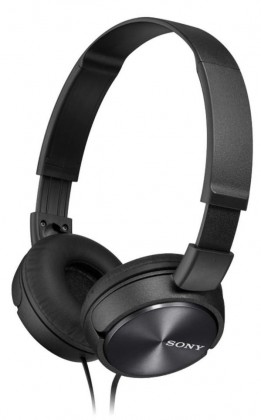 Sluchátka přes hlavu Sony MDR-ZX310, černá