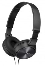 Sluchátka přes hlavu Sony MDR-ZX310APB, černá