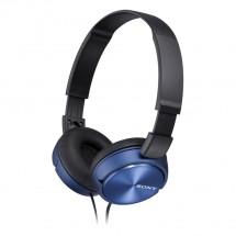 Sluchátka přes hlavu Sony MDR-ZX310APL, modrá