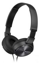 Sluchátka přes hlavu Sony MDR-ZX310B, černá