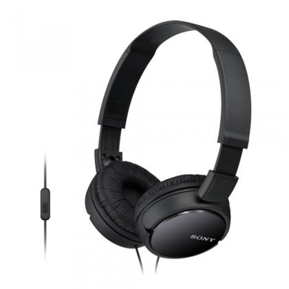 Sluchátka přes hlavu Sony Sluchátka MDR-ZX110AP černá