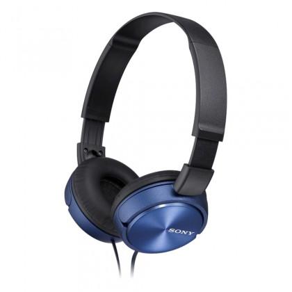 Sluchátka přes hlavu Sony Sluchátka MDRZX310AP modrá