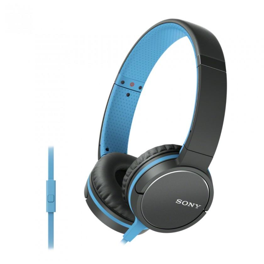 Sluchátka přes hlavu Sony Sluchátka MDRZX660AP modrá