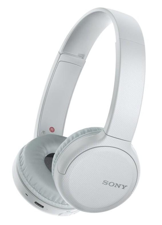 Sluchátka přes hlavu SONY WH-CH510,šedo-bílá