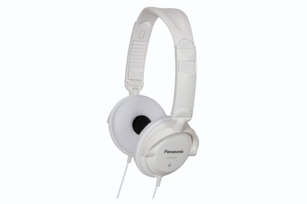 Sluchátka přes hlavu Stylová DJ sluchátka RP-DJS200E-W