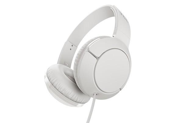 Sluchátka přes hlavu TCL MTRO200WT sluchátka náhlavní, drátová, mikrofon, bílá