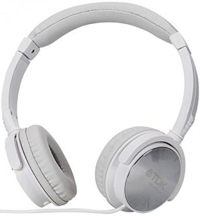 Sluchátka přes hlavu TDK ST170 bílá