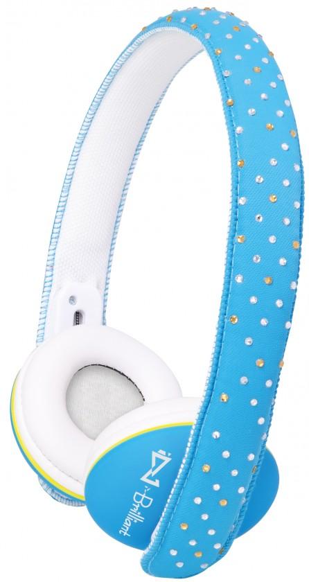 Sluchátka přes hlavu Trevi DJ 682/modré