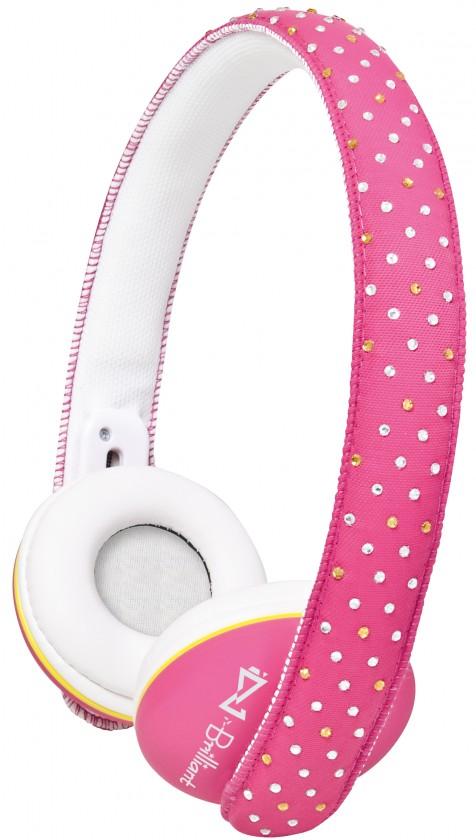 Sluchátka přes hlavu Trevi DJ 682/růžové