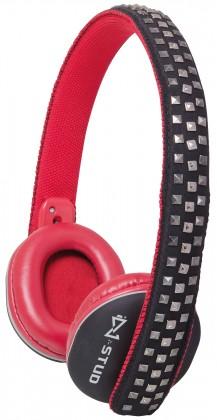 Sluchátka přes hlavu Trevi DJ 683/červené