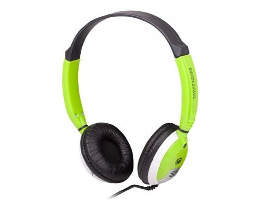 Sluchátka přes hlavu Trevi DLX678 Green
