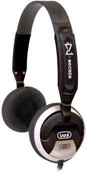 Sluchátka přes hlavu Trevi sluchátka DLX 678 černá