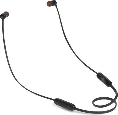 Sluchátka s mikrofonem Bezdrátová sluchátka JBL T110BT černá