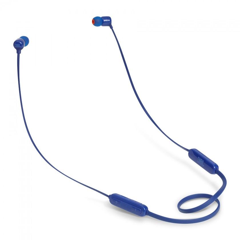 Sluchátka s mikrofonem Bezdrátová sluchátka JBL T110BT modrá