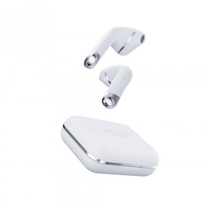Sluchátka s mikrofonem Happy Plugs Air1 White