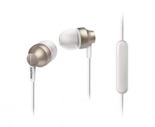 Sluchátka s mikrofonem Philips SHE3855GD, zlatá SHE3855GD/00