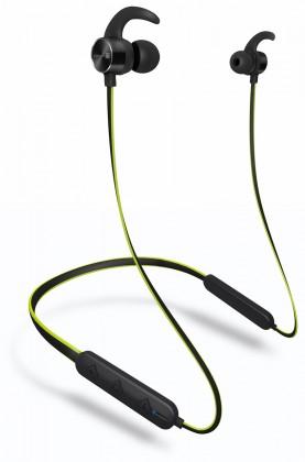 Sluchátka s mikrofonem Sportovní bezdrátová sluchátka Connect IT CEP-4000-GR, zelená
