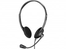 Sluchátka Sandberg BULK USB s mikrofonem, černá