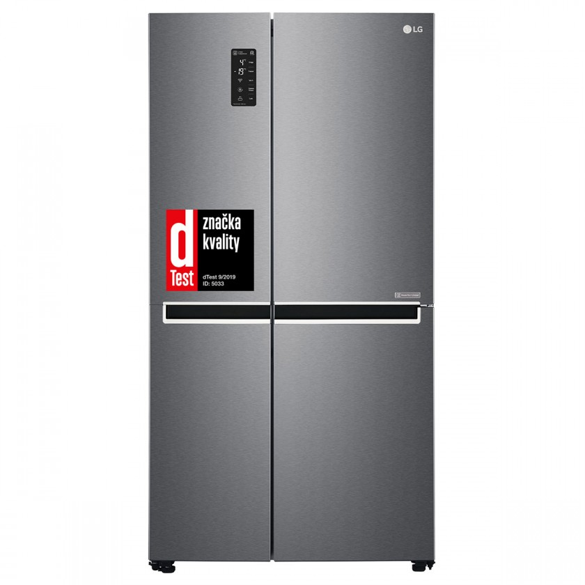 Smart Americká lednice LG GSB470BASZ, 10 let záruka na kompresor